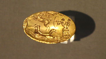 Gold Ring from Mycenae