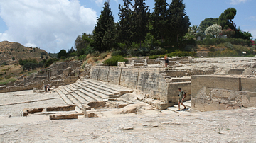Early Theatre, Phaistos, Crete