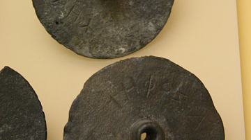 Greek Bronze Ballot Disks