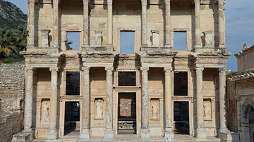 The Library of Celsus at Ephesus