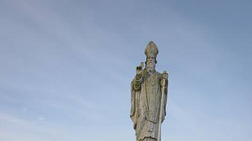 Statue of St. Patrick, Hill of Tara