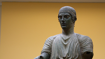 Bronze Charioteer of Delphi