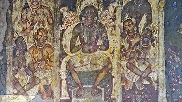 Buddha with His Disciples