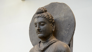 Statue of Guatama Buddha from Gandhara