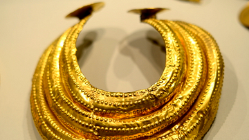 Gold Collar from Ancient Ireland