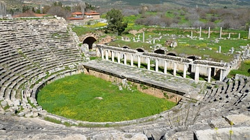 Roman Theatre at Aphrodisias, Caria