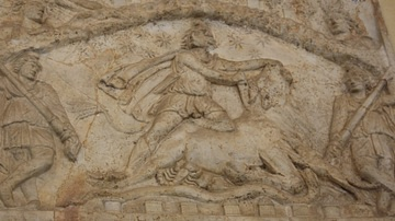 Mithras Sacrificing a Bull
