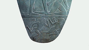 Narmer Conquering His Enemies