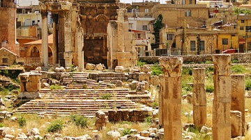 Temple of  Venus, Baalbek