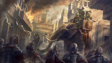 Elephants in Greek & Roman Warfare