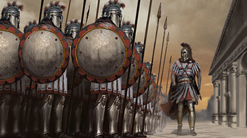 Greek Hoplites [Artist's Impression]