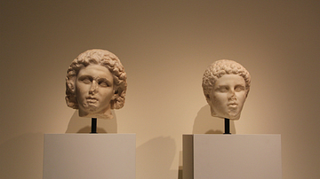 Portraits of Alexander and a Youth (Hephaestion?)