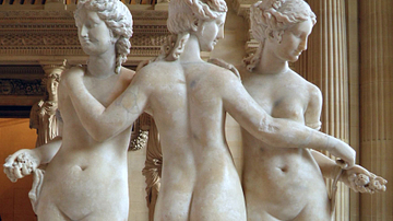 The Three Graces, Louvre