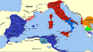 Territories During the Second Punic War