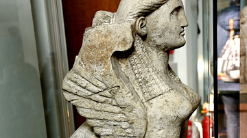 Greek Sphinx, British Museum