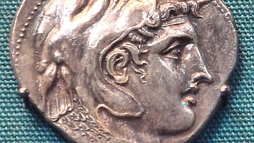 Alexander the Great, Ptolemaic Coin of Alexandria