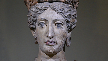 Etruscan Bust of Juno