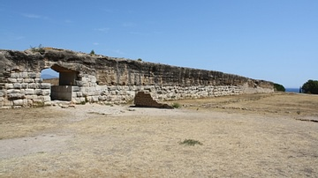 City Wall, Empuries
