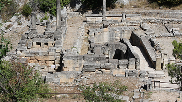 Spring of Glan, Glanum