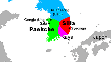 Three Kingdoms, Korea