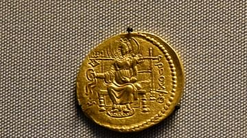 Kushan Coin of Kanishka II