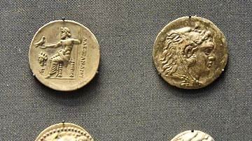 Coins of Alexander the Great of Macedon