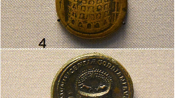 Coin Medallions Featuring the Colosseum