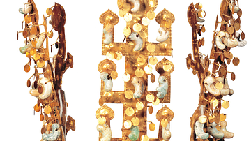 Silla Gold Crown from Cheonmachong
