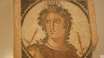 Roman Mosaic of Euterpe
