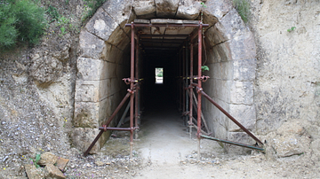 Stadium Entrance, Nemea, Greece