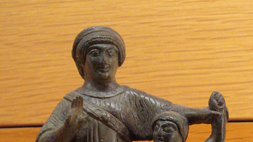 Etruscan Mother & Child