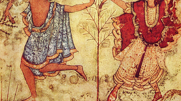 Dancers, Tomb of the Triclinium, Tarquinia