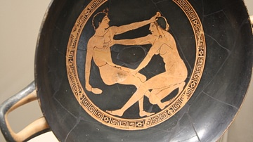 Greek Erotic Scene