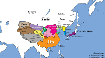 East Asia in 400 CE