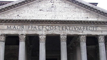 Pantheon Front, Rome