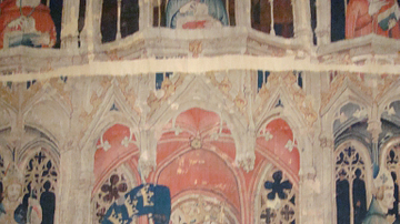 King Arthur, French Tapestry