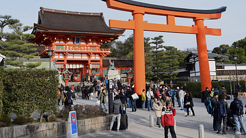 Torii, Fushimi Inari Shrine