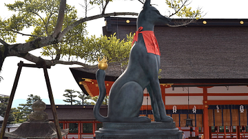Fox Statue, Fushimi Inari Shrine