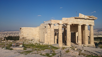 Propylaea - The Entrance to the Acropolis