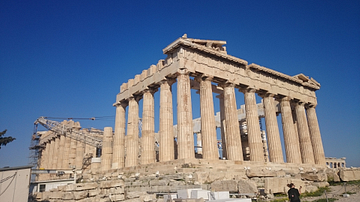 The Parthenon [Rear View]