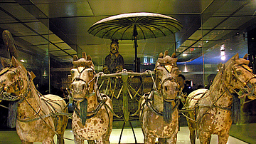 Chariot, Terracotta Army