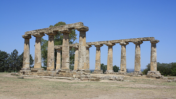 Temple of Hera, near Metapontum