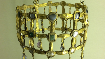 Votive Crown from Visigothic Spain