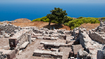 Ruins of Archaic Thera