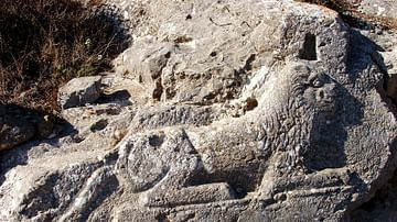 Lion Relief from Thera