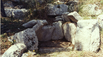 The Dolmen of Cava dei Servi