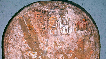 Ramesses III and the God Amun
