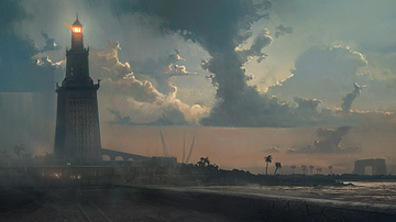 Lighthouse of Alexandria [Artist's Impression]