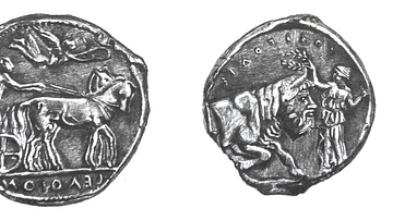 Silver Tetradrachm of Gela