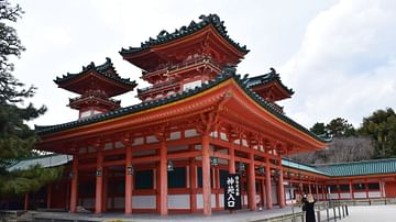Kyoto's Heian Shrine
